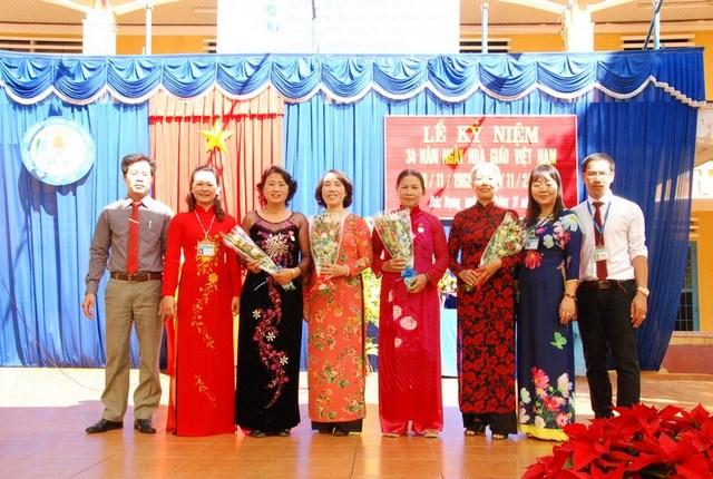 Lễ kỷ niệm ngày Nhà Giáo Viêt Nam 20/11/2016