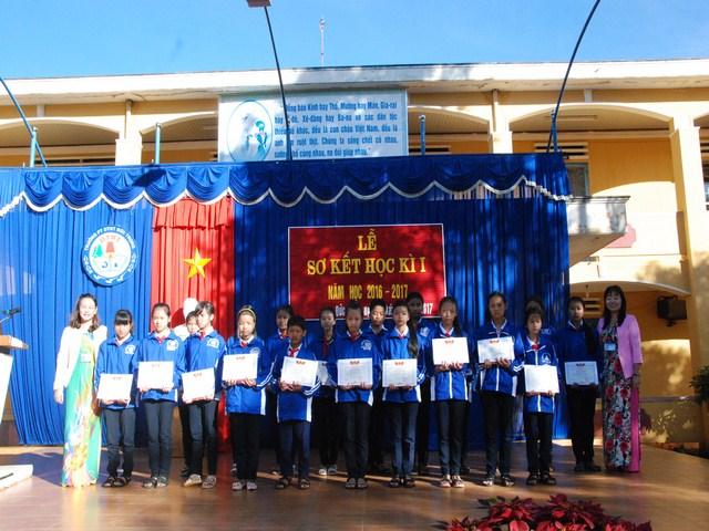 Lễ sơ kết học kỳ 1 năm học 2016 – 2017