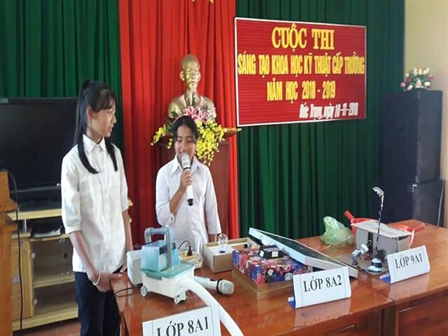 Cuộc thi khoa học, kỹ thuật dành cho học sinh năm học 2018 – 2019