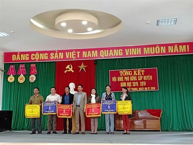 Hội Khỏe Phù Đổng cấp Huyện năm học 2018 – 2019